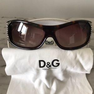 Dolce & Gabbana 8041-B Tortoise 502/13 Sunglasses